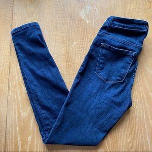Judy Blue Dark Wash Mid Rise Skinny Jeans